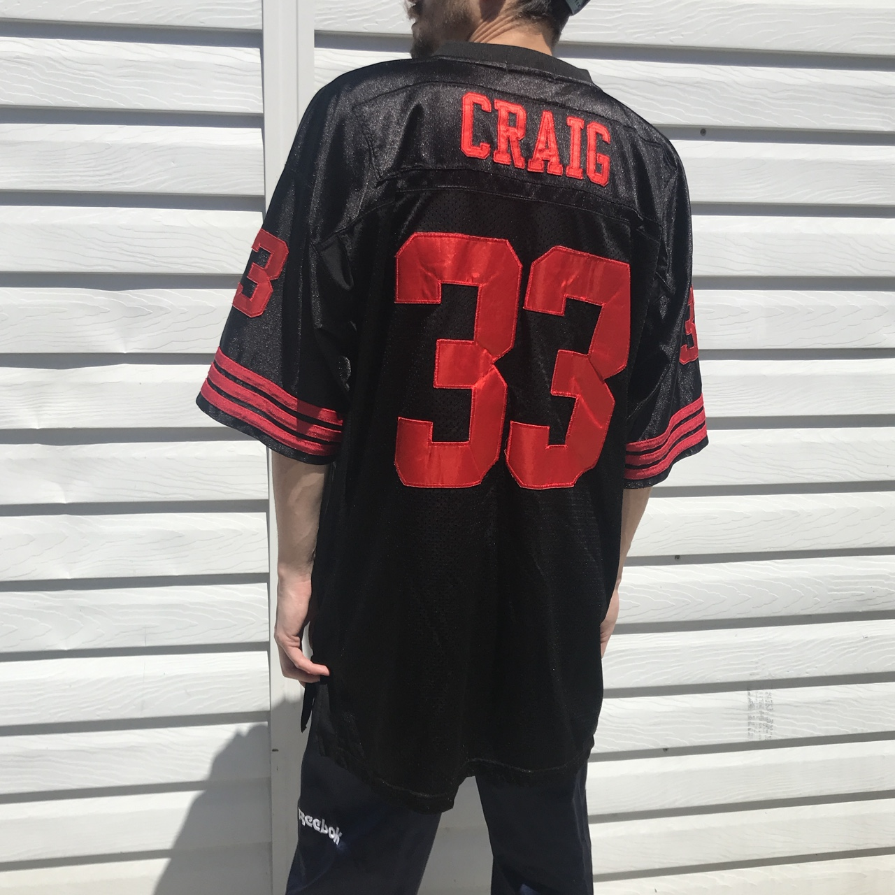best loved 43267 fe3c2 Roger Craig #33 1989 Mitchell and Ness throwback... - Depop
