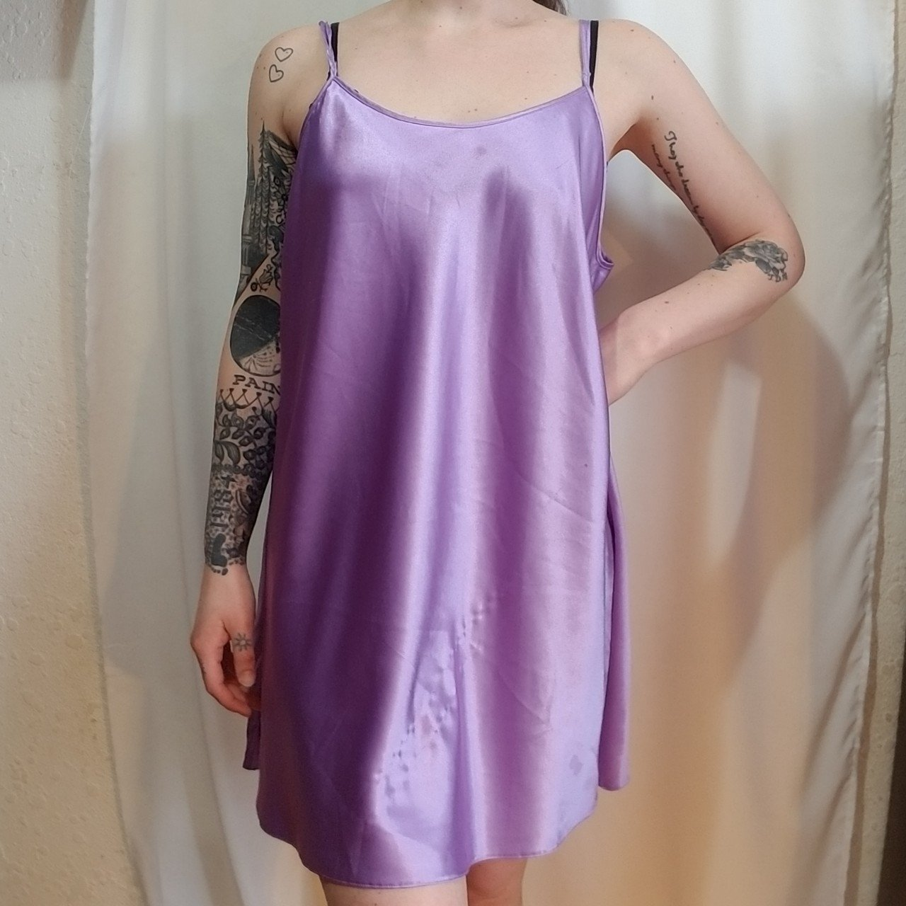 🔮lavender fields nightie🔮 really silky nightgown 2a37a20bc