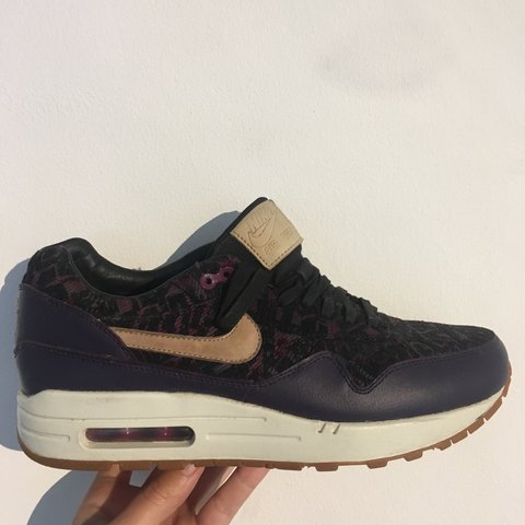 01d3f03c02 @danilambert. 2 years ago. Bristol, UK. Nike air max 1 premium pattern print.  size 6. Limited addition! Funky ...