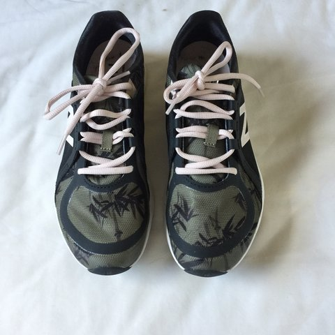 New Balance trainers. Exclusive print