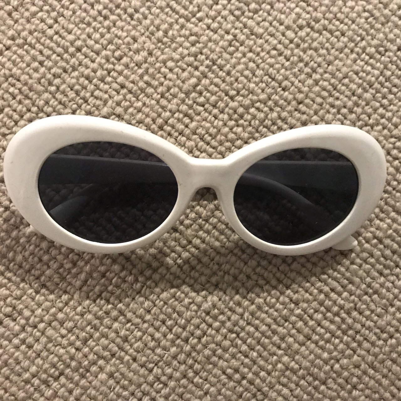 95ff7f0183d White clout goggles. New never worn - Depop