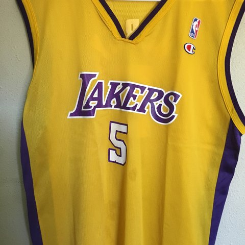 e2037a47166 @amaese24. 6 months ago. El Paso, United States. Champion Robert Horry  Lakers Jersey! Size 44