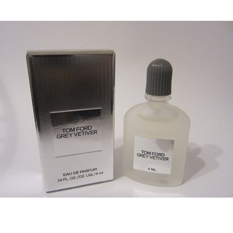 Tom Ford Grey Vetiver Eau De Parfum For Men Mini 4ml Size Depop