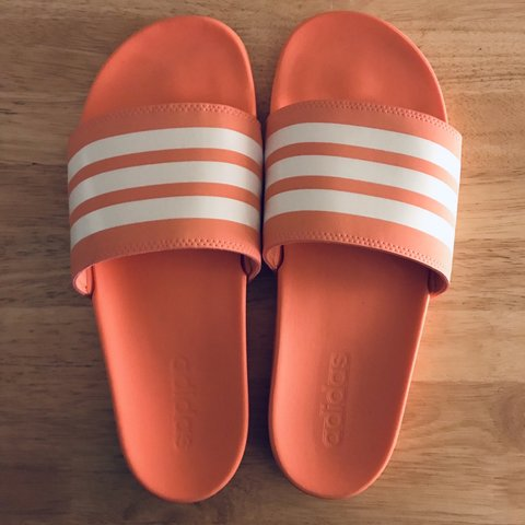 bf10150b7 Adidas Adilette comfort slides in Coral Never worn