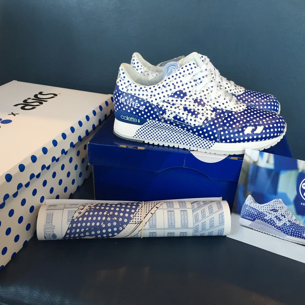 cheap for discount fd1eb d4515 Colette x Asics Gel Lyte III. Brand new in box. DS.... - Depop