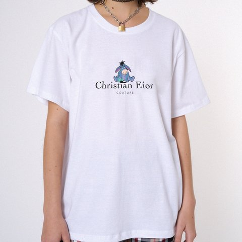 2dbb4f8d Christian Eior T-Shirt Checkout this Christian Dior with the - Depop