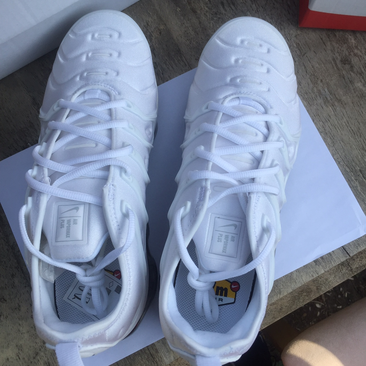 new product bedad cdc42 SOLD ON EBAY**** Nike Vapormax Plus White... - Depop