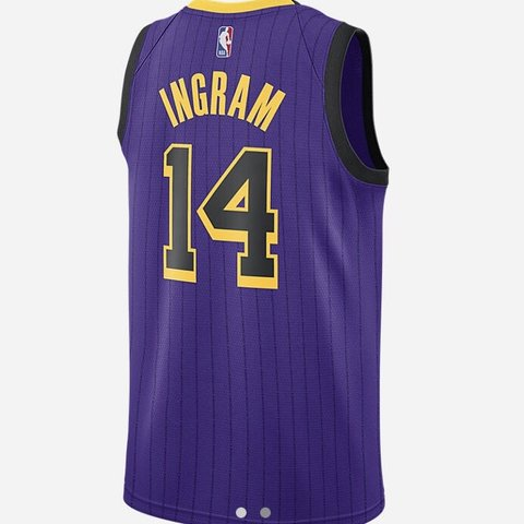 5e6c852d14e @kinobecollection. 6 months ago. Cleveland, United States. Buy Brand New! Brandon  Ingram Los Angeles Lakers City Edition Swingman NBA Jersey!