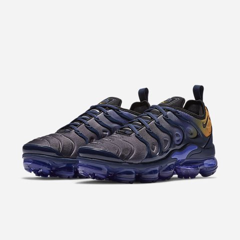 59cc690f45965 Buy Brand New! Nike Air VaporMax Plus Persian Navy Laser 5 - - Depop