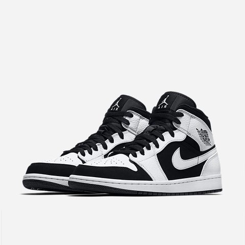 1895eb7cf030 Buy Brand New! Air Jordan 1 Mid White Black Available Men 11 - Depop