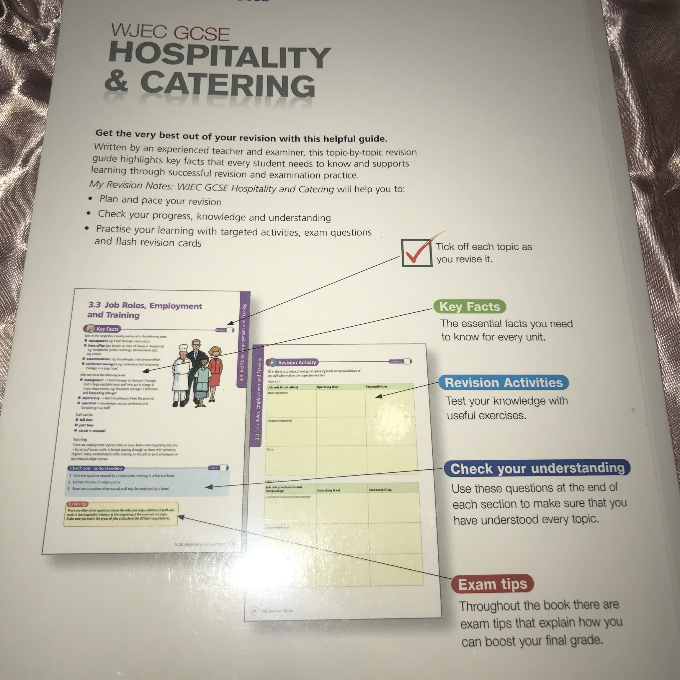 GCSE Hospitality&Catering Revision guide🍽 Includes    - Depop