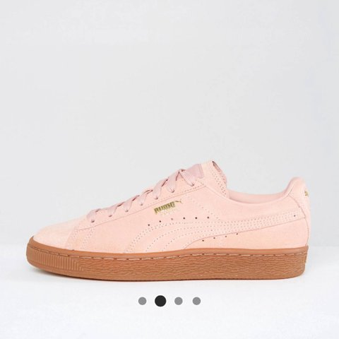 72d54172a079 BRAND NEW   Women s Puma suede classic trainers in pink. - Depop