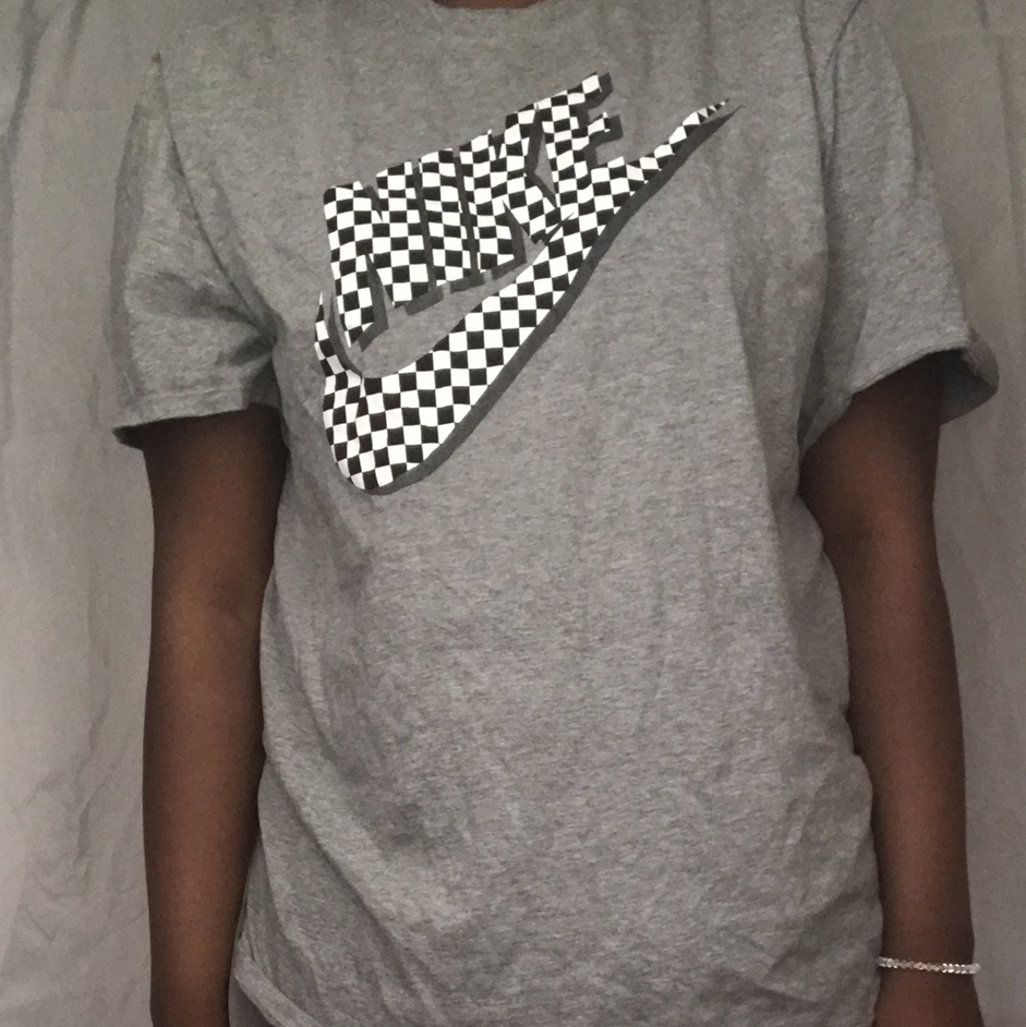 nike checkered shirt