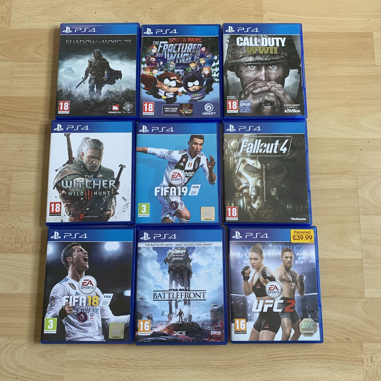 PS4 games bundle Can be bought ...