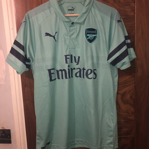 c2e5cef4672 @benmacgregor3397_1. last month. United Kingdom. Official puma arsenal  third kit shirt. Worn a couple of times ...