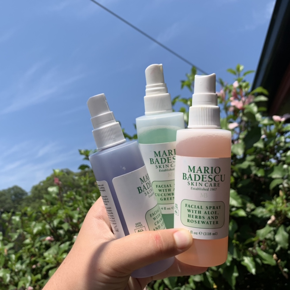 All 3 Mario Badescu Facial Sprays Use One In The Depop