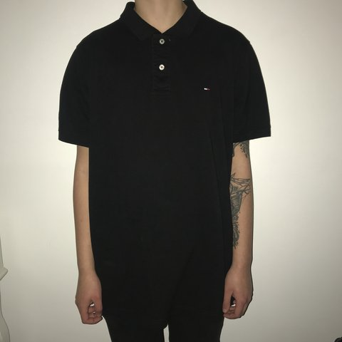 6b34db3e @venvintage. last month. United Kingdom. Tommy Hilfiger polo shirt size XXL  but could also fit ...