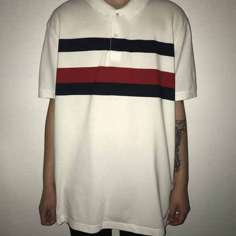 84ee6efd @venvintage. 5 months ago. United Kingdom. Tommy Hilfiger polo shirt size  XXL but could fit ...