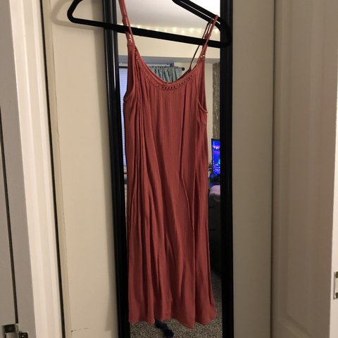aa5052cc0f6 Coral Mossimo sundress - Depop