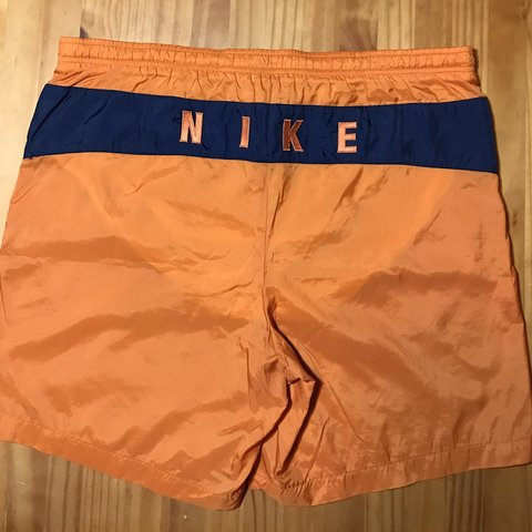 af82520ffa @onestopvintage. 2 months ago. St. Joseph, United States. Vintage Nike Swim  Trunks Throwback board shorts ...