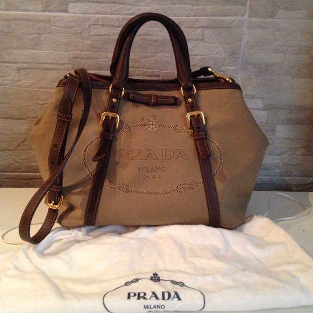 Prada Borse Canvas