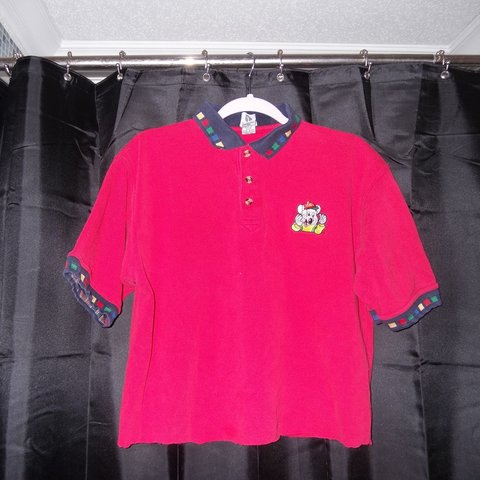 b95324bd @r4t3at3r. 2 months ago. Smyrna, Rutherford County, United States. Vintage cropped  Chuck E Cheese polo work shirt ...