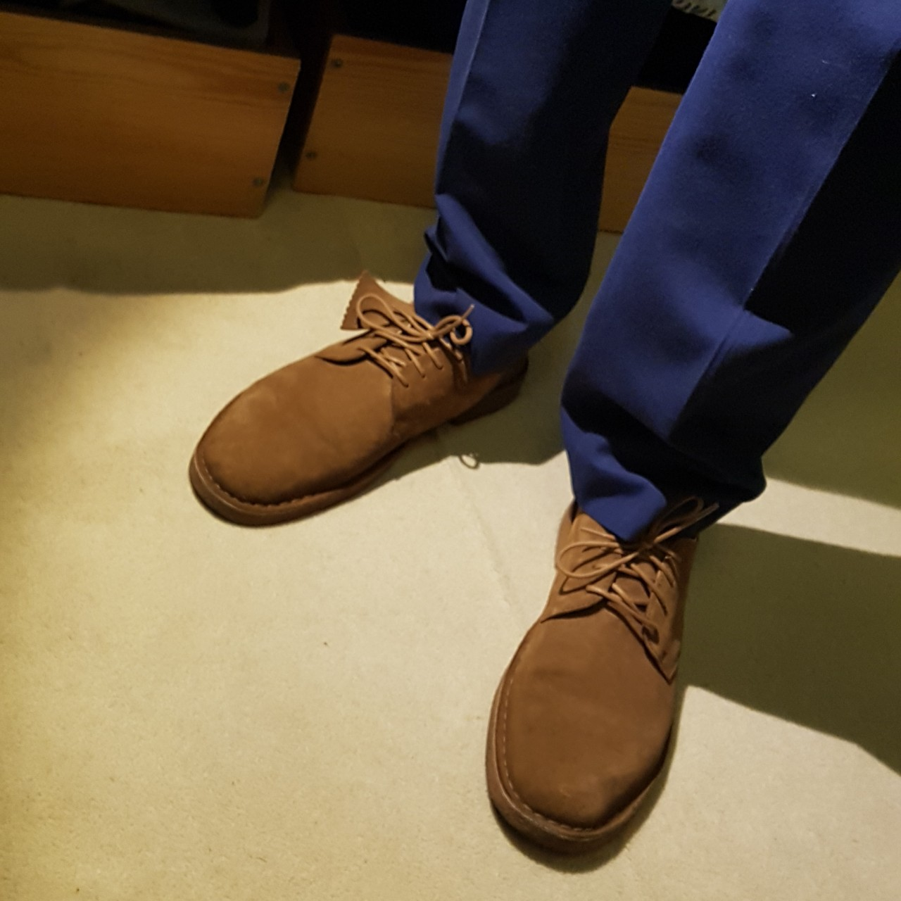 ⭐CLARKS DESERT LONDON 🌟COLA SUEDE 🌟ONLY