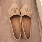c2abd5904444 Nude loafers worn once size
