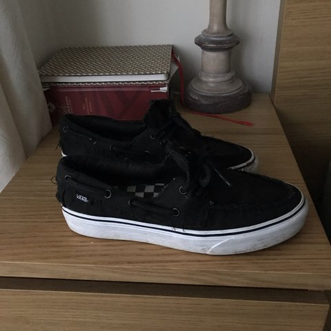 Black 9 Vans Depop Barco White Del 10 Zapato X Condition TKJuF3l1c