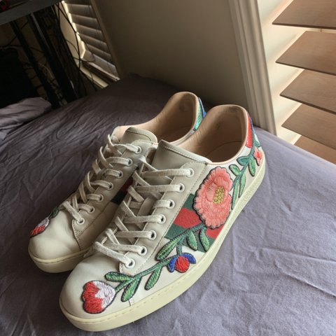88e48cb1040 Gucci Ace Floral in a Gucci 9 1 2. If you know