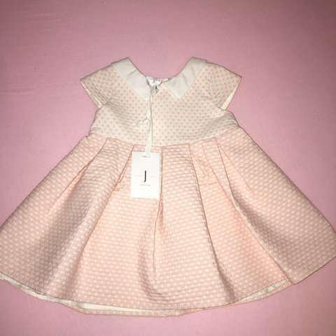 4ef3608e8 @livwalshx. 7 months ago. Lancaster, United Kingdom. Baby girl Pink Jasper  Conran dress. Size 3-6 months. New with tags