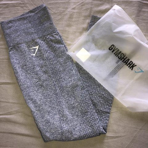 11349837795d6 @nidwolf. 6 months ago. Gent, België. GYMSHARK vital seamless leggings in  color Steel Blue Marl.