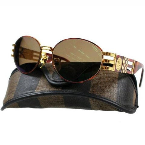 5c6f0202171c7 Vintage Fendi sunglasses. 10 out of 10 condition with case! - Depop