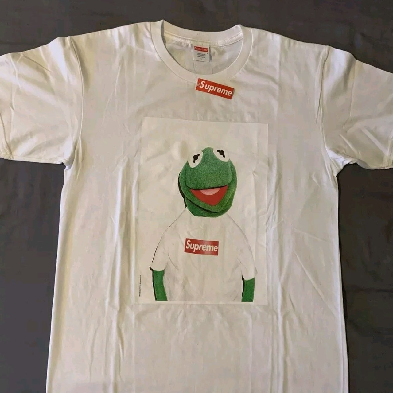 9d05d64c9 @jomark. 5 months ago. Handforth, Greater Manchester, United Kingdom. Supreme  Kermit tee shirts