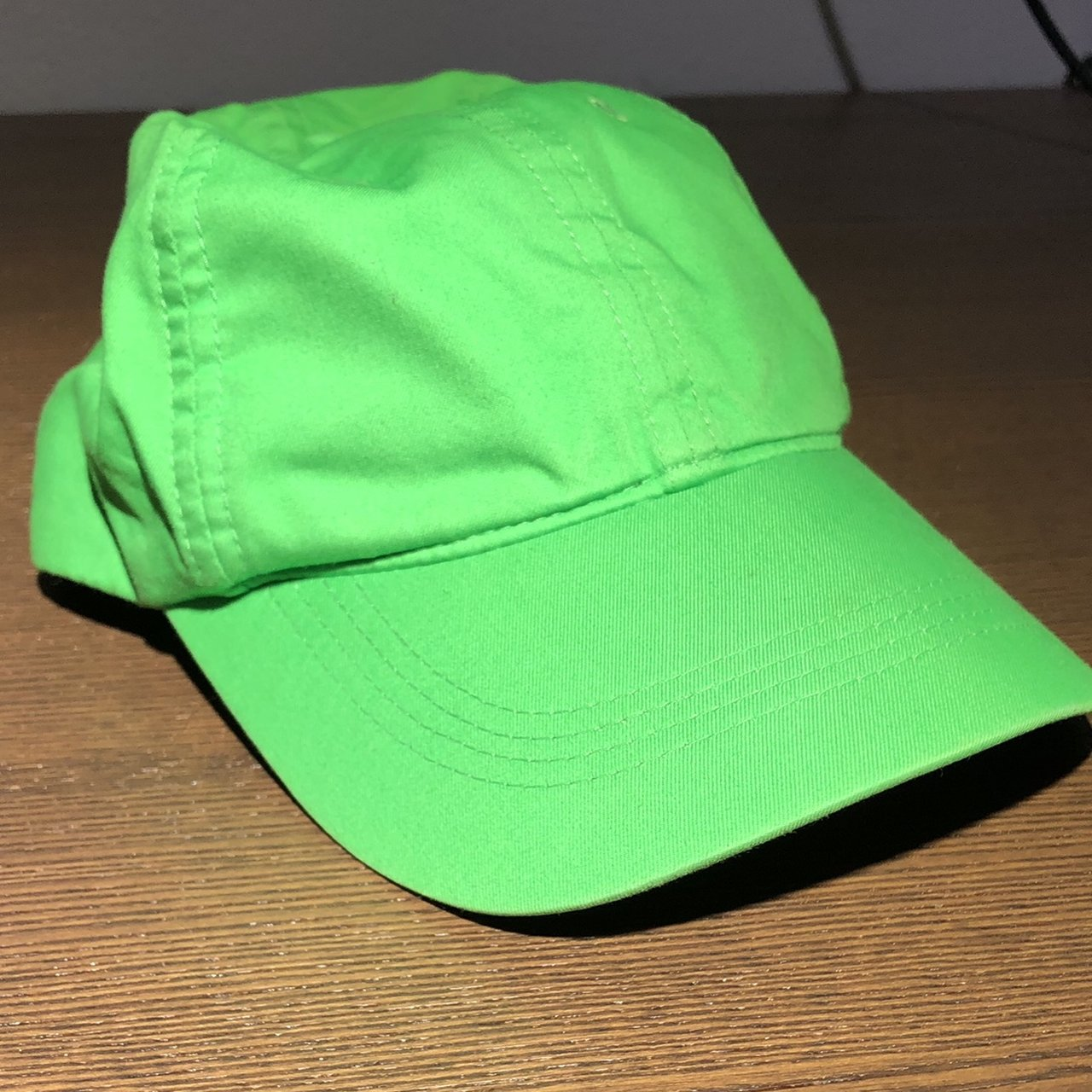PRICE DROP!!! Neon green Nike Golf hat with a crazy lid Hit - Depop c04f291c490