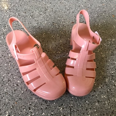 b0c7461a671 Cute Jelly Sandals~ Great condition and clean! Your best for - Depop