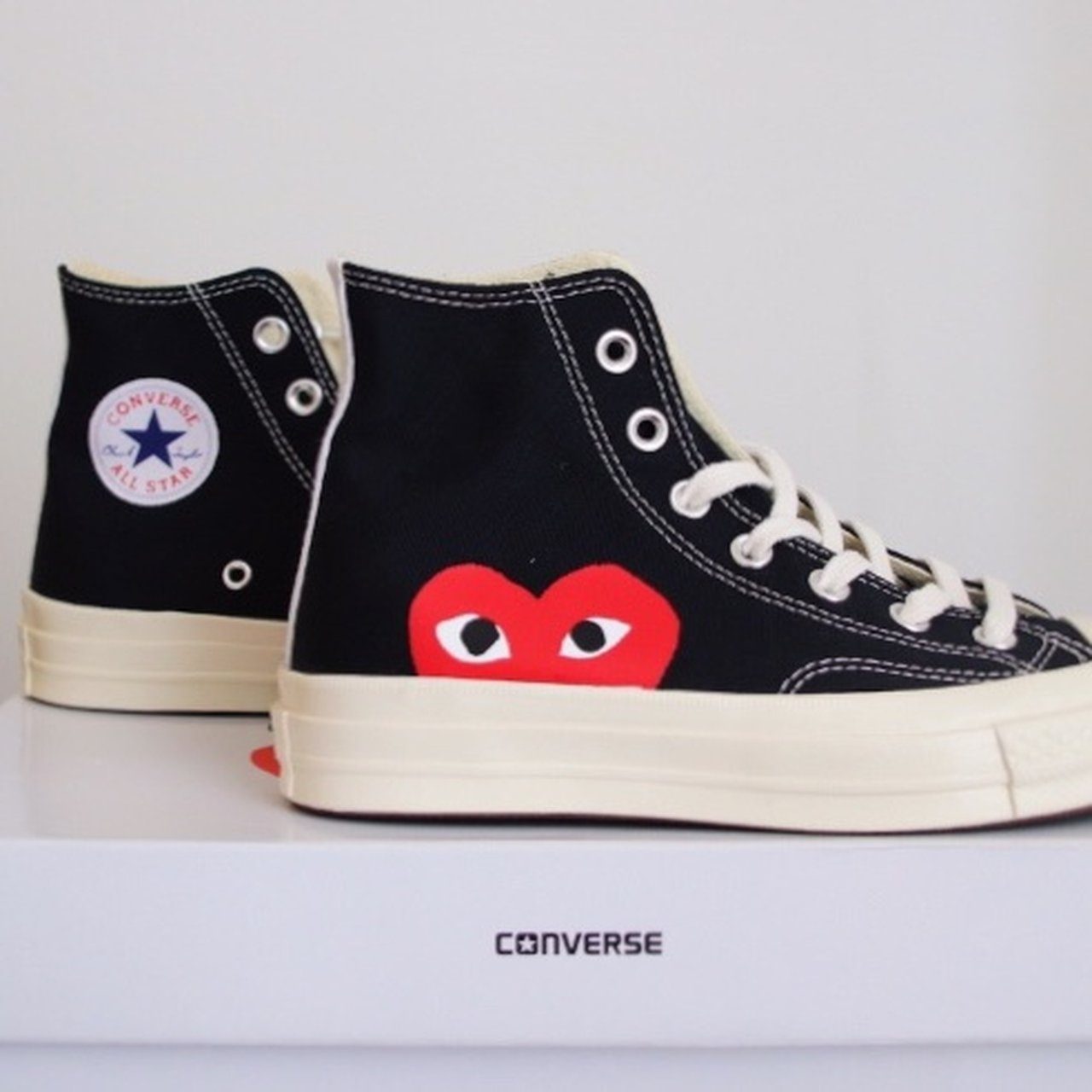 921c18960 @hannaburns. 11 months ago. Edinburgh, United Kingdom. CDG x Converse.