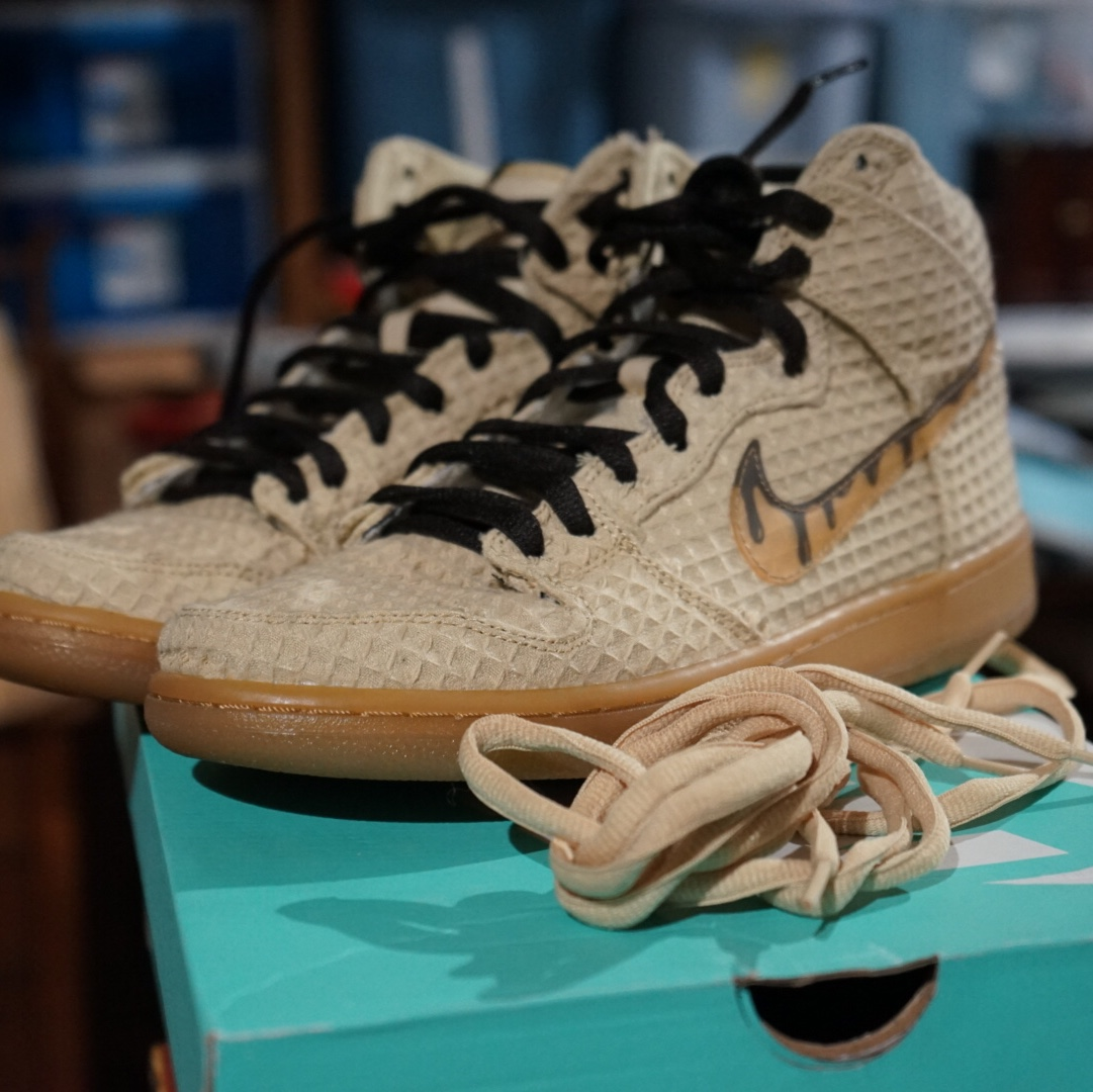 brand new 9658d 8db17 Nike sb chicken and waffle with OG box VNDS size 9... - Depop