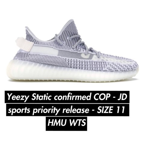 e9a0f90f6f048 Yeezy Boost 350 V2 STATIC Early priority release and with JD - Depop