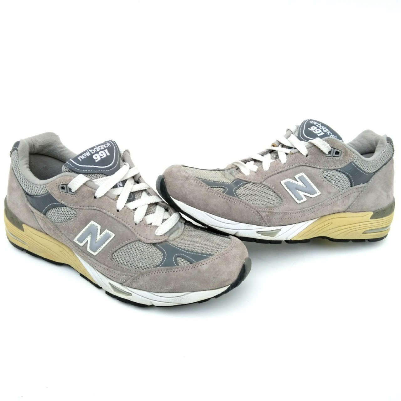 Vintage New Balance 991 Made In Usa W991gr Gray Depop