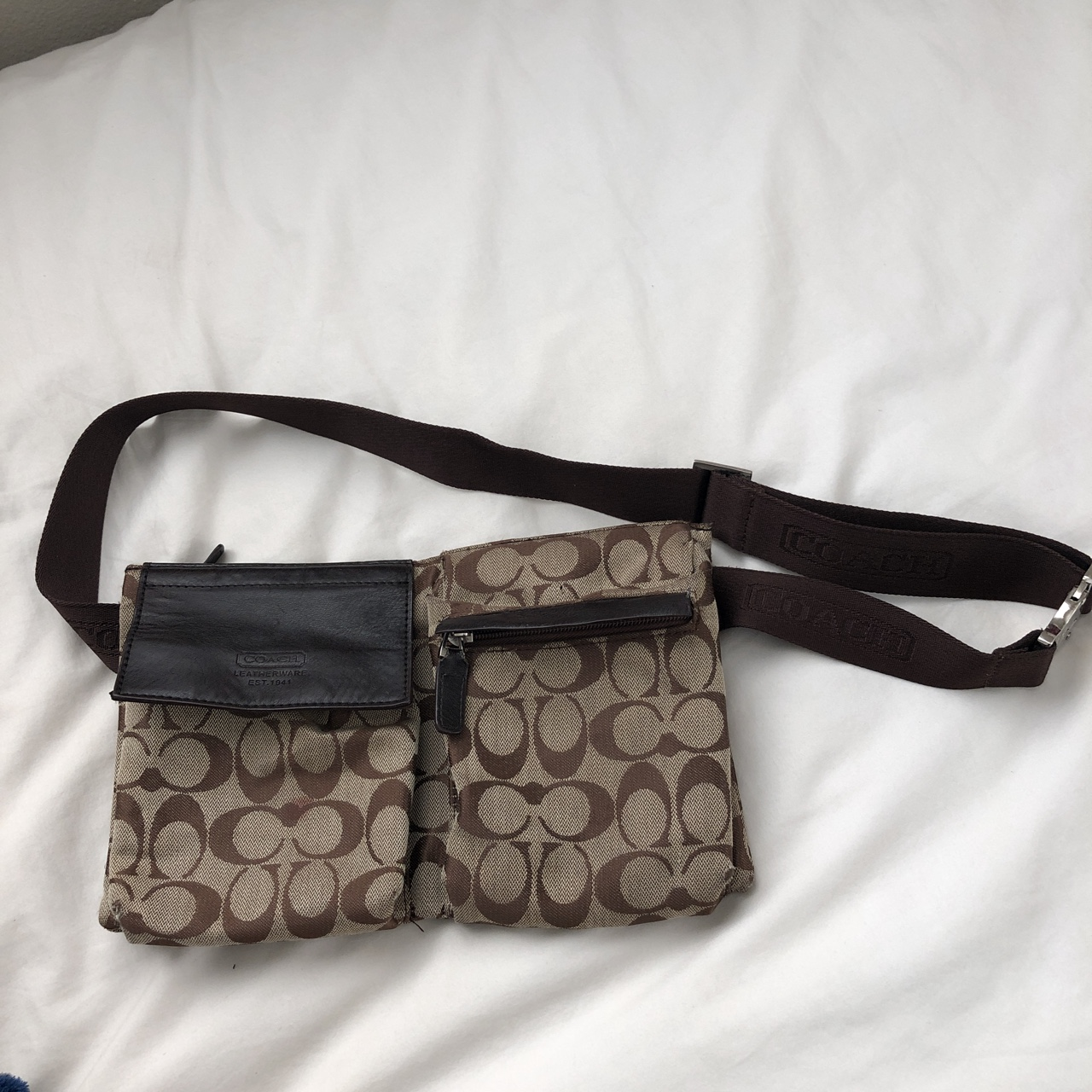 9ed9852dc3a Coach Fanny pack Good condition! #coach #fanny... - Depop