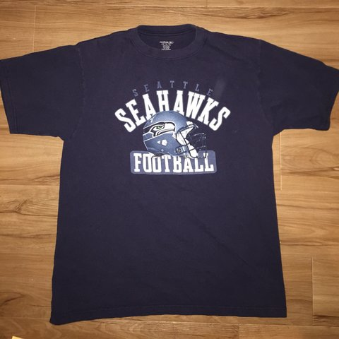 Price Drop!! Vintage Reebok Seattle Seahawks Tee 9 10 - Some - Depop ce6bf22b4
