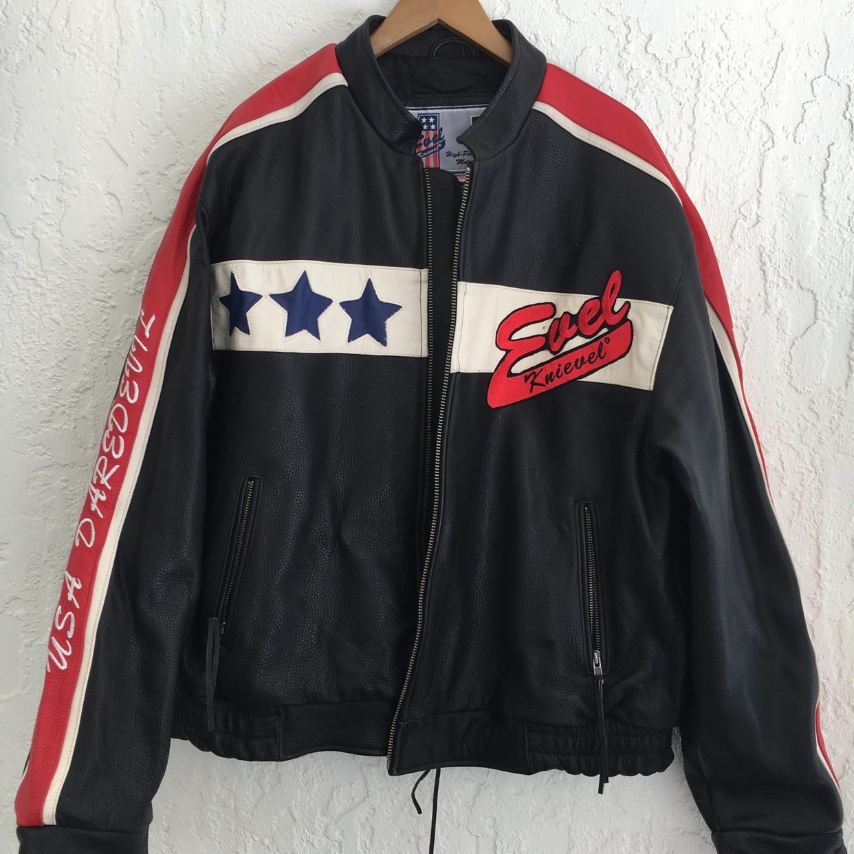 adc4ddf6d Limited edition Evel Knievel jacket Size:... - Depop