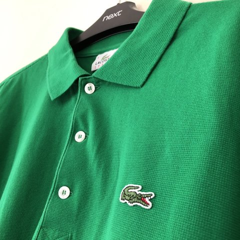 585c5d47 🤟🏼BRAND: Lacoste 🤙🏼STYLE: short sleeve 9/10 🏷 TAG: 4. - Depop