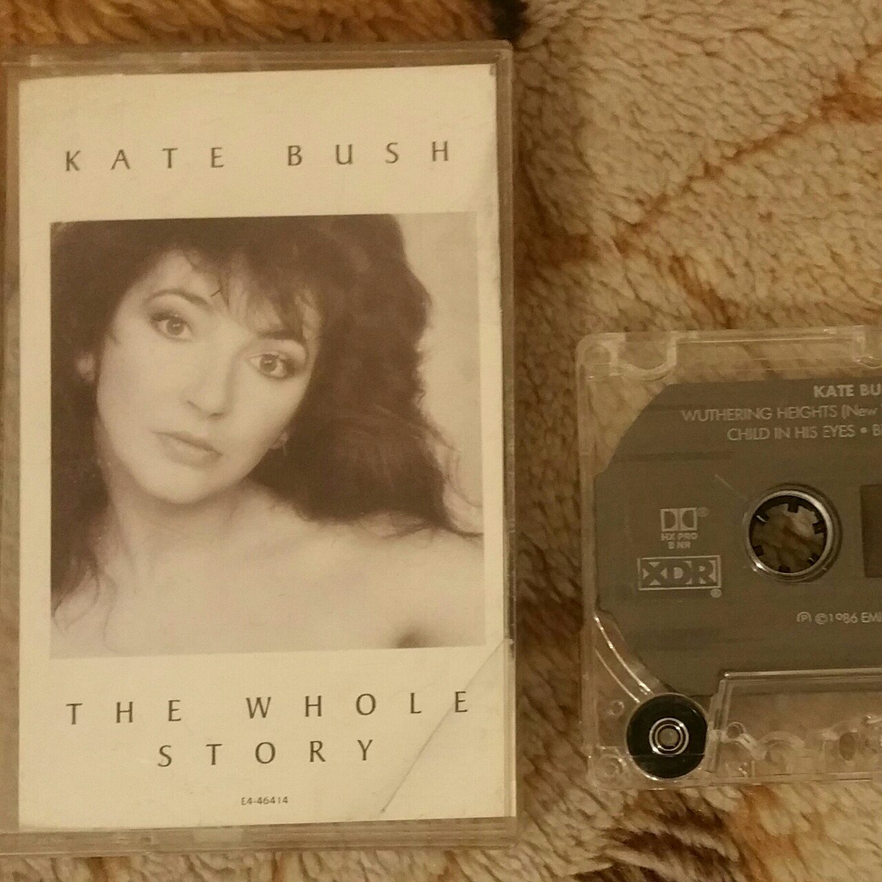 KATE BUSH 'THE WHOLE STORY' cassette  One of my    - Depop