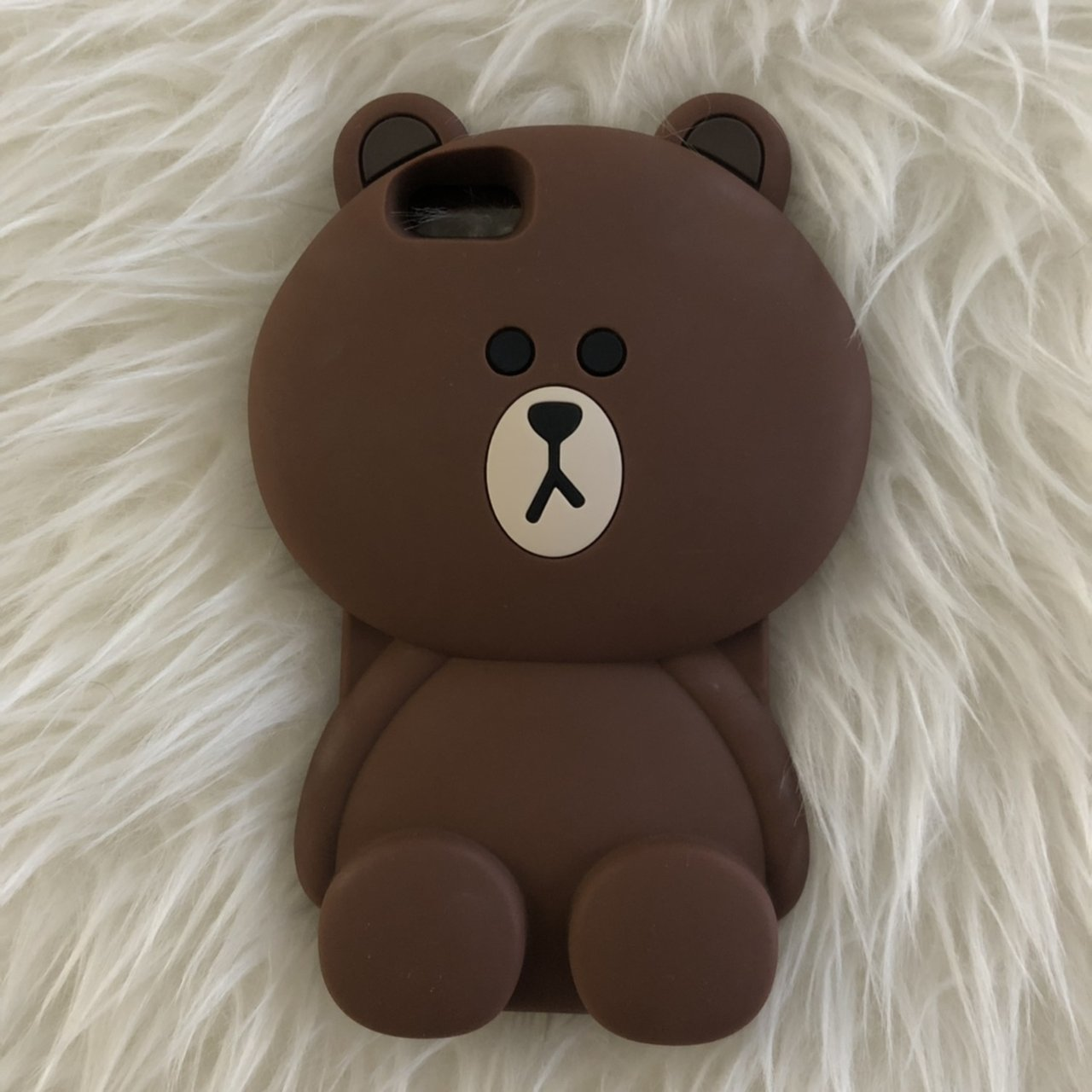 sports shoes 7de9b 2bb56 line brown bear phone case for the iphone 6s+ 🐻 ... - Depop