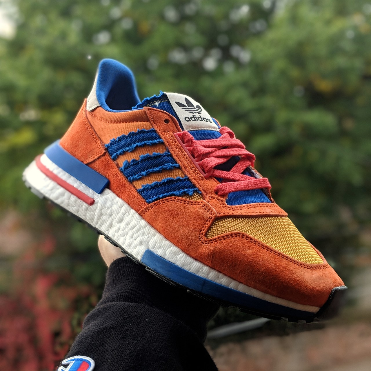 reputable site 9d556 d9739 🔥 ADIDAS x Dragon Ball Z ZX500 Goku 🔥 🏷️ Brand new ...