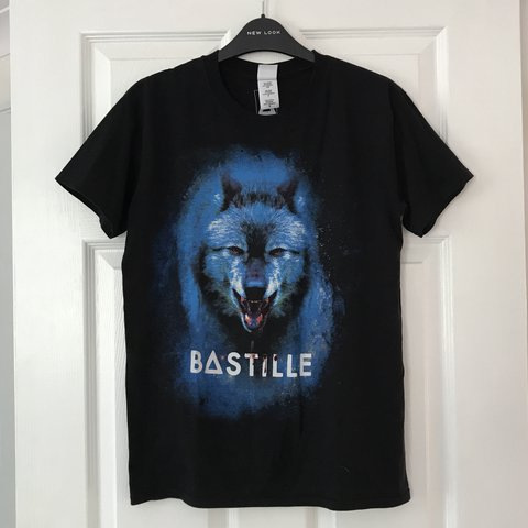 d922d70c3 @nebula_zebra. 10 months ago. Norwich, United Kingdom. BASTILLE wolf band t  shirt • Design printed on a quality ...