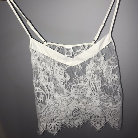 39ba05bd4d4 Ivory dreamer cami from bras and things Never worn and in a - Depop