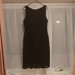 4fd042a53877 Black lace dress Fully lined Concealed zip